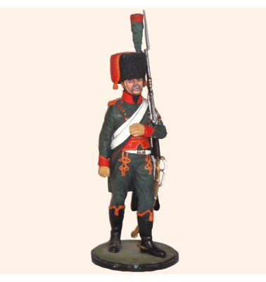 AS90 57 Trooper Chasseurs a Cheval of the Guard 1804-1815  Painted