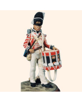 AS90 62 Drummer The 7th or Royal Fusiliers Regiment of Foot c.1814 Painted