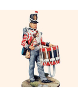 AS90 63 Drummer The 2nd or Queens Royal Regiment of Foot c.1815 Painted