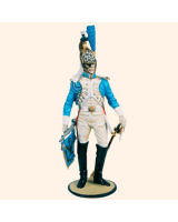 CS90 04 Trumpeter Imperial Garde Dragoons c.1808 Painted