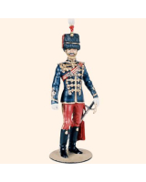 CS90 26 Officer Hussars 1900 The British Army Late Victorian Period Painted