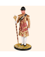DM90 02 Drum Major Grenadier Guards State Dress Painted