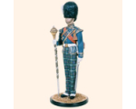 DM90 06 Drum Major Royal Highland Fusiliers Kit