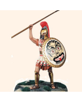 JW90 143 Greek Hoplite Painted