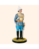 JW90 041 Captain 28th Light Cavalry c.1910 Painted