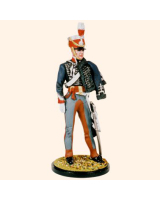 RC90 012B Hussar Officer In shako 1806-1815 Painted