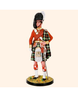RC90 020B Officer The Seaforth Highlanders 1900 Painted