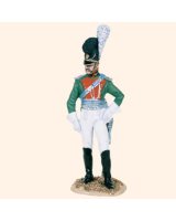 RC90 024 Officer Bavarian Chevau Legers 1809 Painted