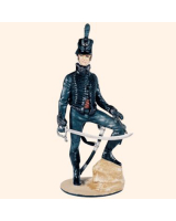 TM90 01 Officer The Rifle Brigade 95th Foot c.1812 Painted